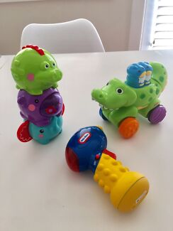Fisher price little tikes baby toddler toy bundle