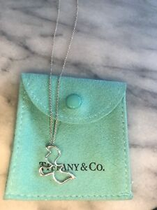 Tiffany & Co Paloma Picasso Dove Necklace