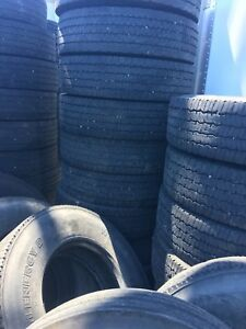 Truck ,trailer and steer axle tires for sale