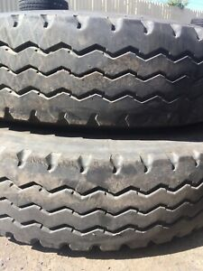 4x 10.00R20 16pr LONGMARCH TYRES $150 EACH WITH RIM Wangara Wanneroo Area Preview