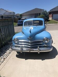 1950's Plymouth deluxe special