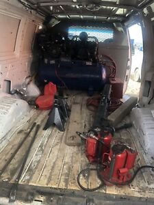 TIRE INSTALLATION VAN FOR SALE WITH FULLY LOADED TOOLS