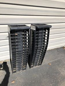 Polymer heavy duty vehicle ramps