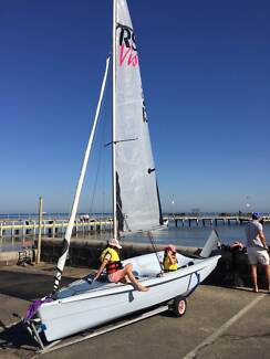 RS Vision XL Sailing Dinghy