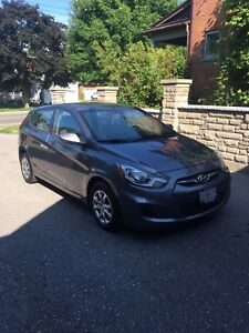 2013 Hyundai Accent - Low Km's