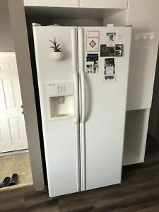 Maytag refrigerator and stove