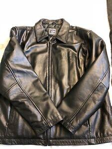 Newmarket Hurricanes hockey leather jacket