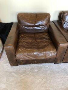 Restoration hardware Maxwell chairs Pair