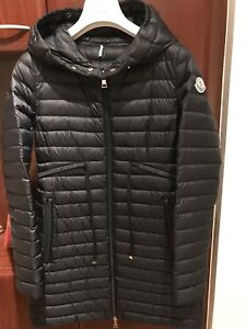 Authentic Moncler Barbel Light Weight Down Jacket Navy 00