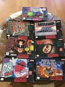 Super Nintendo games