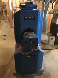 Buderus Oil Boiler -can be converted to Gas