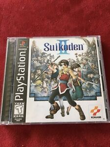 Suikoden ii (2) for PlayStation. Ps1