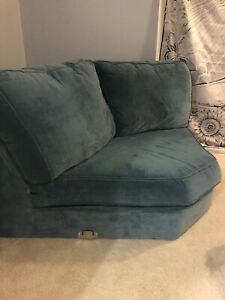 Free couch section.