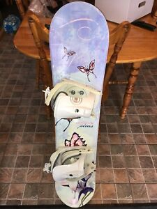 planche a neige snowboard fille