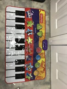 Fisher price giant step on piano