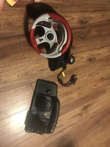 Game console steering wheel
