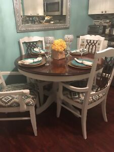 Beautiful Shabby Chic Country Style Dinning Set