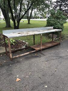"""10'x24"""" bench"""