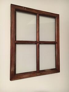 Rustic Farmhouse Style Window Pane/Picture Frame - Smoke Free