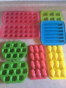 Rubber ice trays