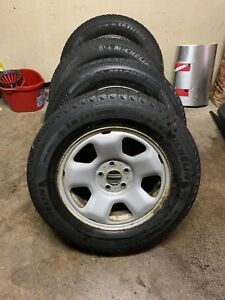4 245/65/17 Michelin x ice on Honda/Acura rims