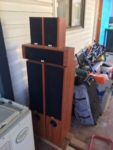 5 brown Hifi stereo speakers (brand new) St Marys Penrith Area Preview