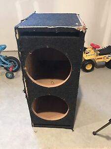 """Dual Ported 12"""" Subwoofer box"""