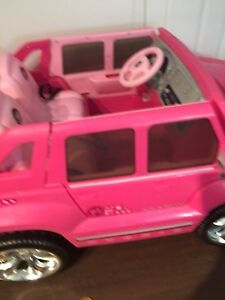 Fisher Price Pink Cadillac Power Car toy