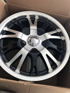 Brand new set of 17 inch rims