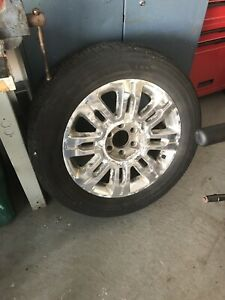 F150 platinum rims and tires