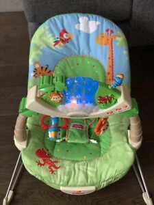 Fisher Price Rainforest Light Up Bouncy Chair