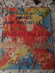 Inspirational Quotes Acrylic 16x20