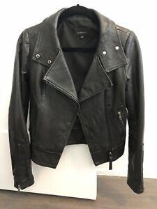 Mackage Kenya Leather Jacket- XS