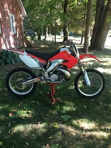 2002 cr 250 with ownership