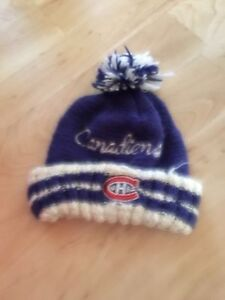 Tuque des canadiens