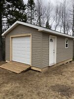 Need a new building ? Garage shed or deck