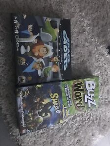 3 games for $65. Space cadets. Buzz Word. Smash up.