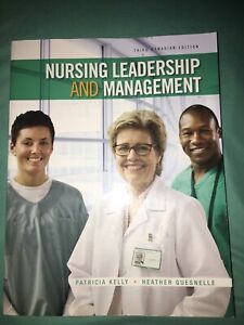Nursing Leadership and Management 3rd Canadian Edition for sale
