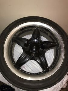 """4 17"""" Multi five 5x114.3, don't wanna move these make an offer"""