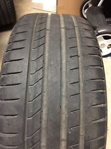 Pirelli Dragon 235-45-17 97W 60 % tread. 1 tyre Airport West Moonee Valley Preview
