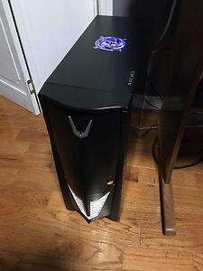 Custom built gaming computer/full setup