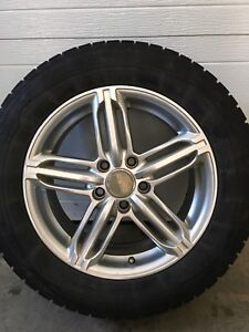 Mags et pneus hiver 5 x 112 16 pouces