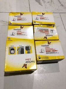 Genuine Freestyle Libre Flash Glucose monitoring system 6 items