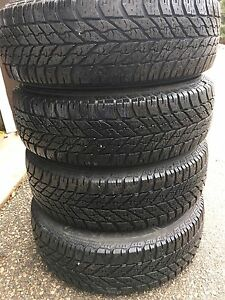 Goodyear ultra gripSnow tires on the rims , Will fit VW