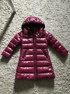 Brand New Moncler Moka down jacket berry red size 120 cm