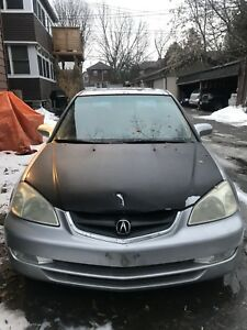 Selling 2001 Acura 1.7 EL in as is condition