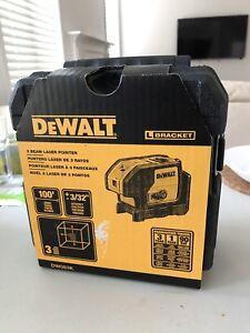 Brand New Dewalt 3 Beam Laser Pointer