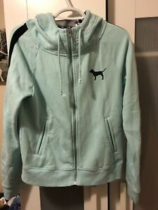 Ladies PINK zip-up, size Small