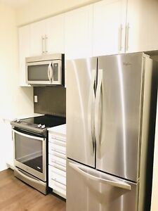 1 bed plus den condo for rent in Sq one