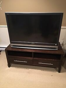 "Sony WEGA 42"" rear projection TV with stand"